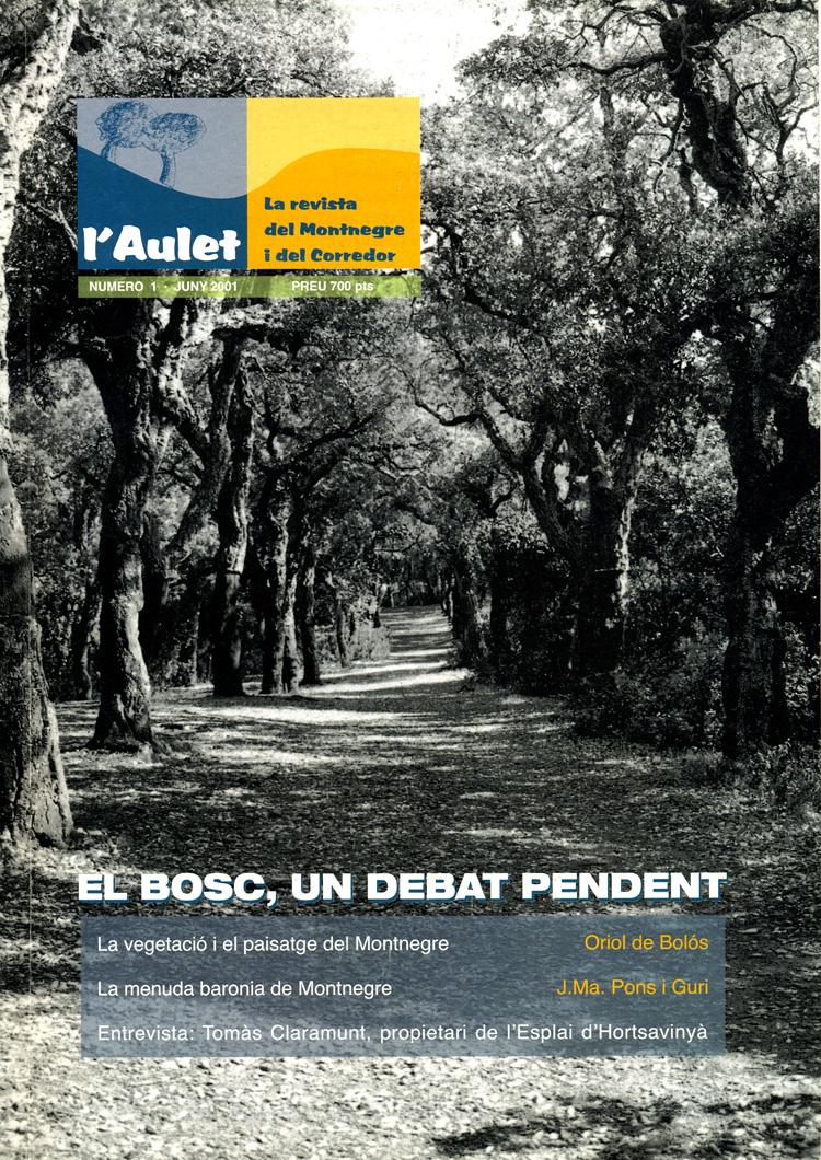 L'Aulet – La revista del Montnegre i el Corredor Nº 1