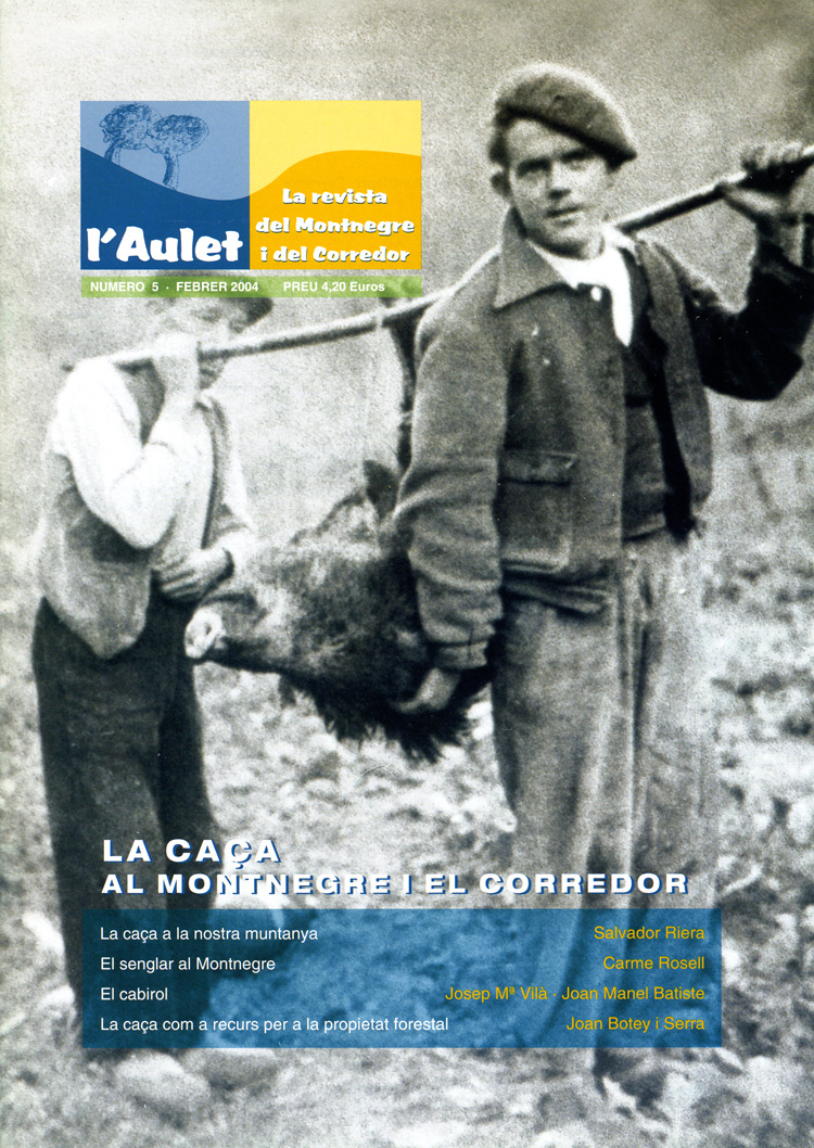 L'Aulet – La revista del Montnegre i el Corredor Nº 5