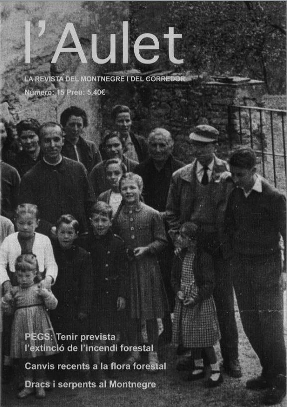 L'Aulet – La revista del Montnegre i el Corredor Nº 15
