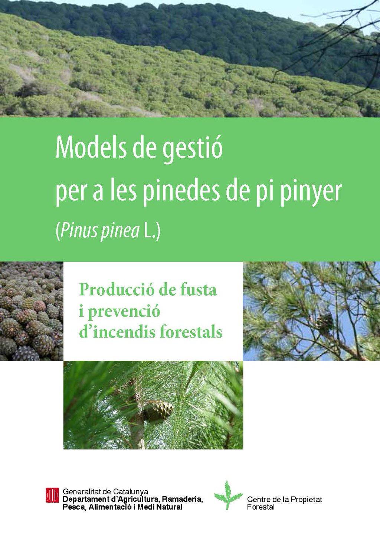 Models de gestió per a les pinedes de pi pinyer
