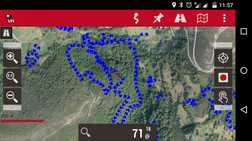 Jornada tècnica del Pla Anual de Transferència Tecnològica 2016: Els telèfons intel·ligents una eina per a la propietat forestal