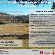 Jornada sobre aprofitament i recuperació de pastures